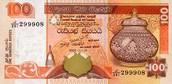 100 Sri Lankan Rupee