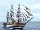 Amerigo's ship.