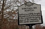 Dorothea Dix Hospital's Sign