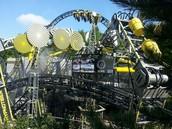a modern roller coaster...