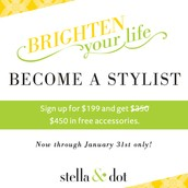 Brighten Your Life!  Become a Stylist!