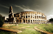 Rome's Great Colosseum