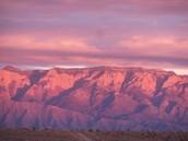 Las Montañas Rosadas