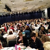 ...hundreds of participants with great energy!