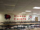 Cafeteria Mural by Mr. Vavrick and Students