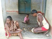 Indian Poor Family
