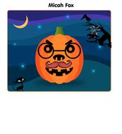 We had a pumpkin contest...  online!