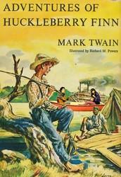 Huckleberry Finn by Mark Twain (1884)