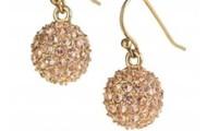 Gold Soirée Earrings