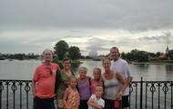 My family at disney world