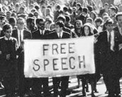 We all want keep our free speech