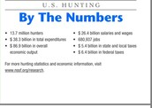 How much money does the average American spend on hunting?