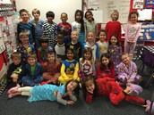 PJ's and Polar express Day