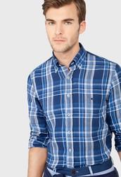 Camisa Cuadros Lino