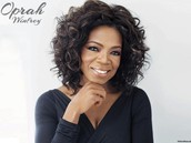 Oprah the famous talk show host