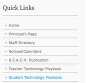 Technology Playbooks Established!