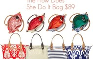 "The "" How Does She Do It"" Tote $89"