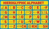Our alphabet is based off of the Hieroglyphic alphabet