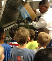 Chef Danny showing us how to cook!