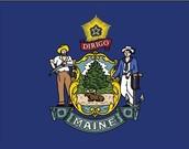 Maine's flag