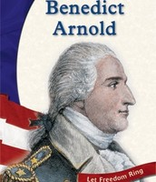 A printed picture of Benedict Arnold.