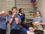 Birthday Celebration - Popcorn and Icee Party