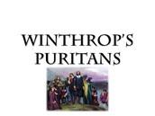 Winthrop's Puritans