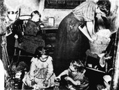 Living conditions of the poor