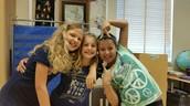 Marta, Lucille, and Lidia Raquel