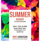 Summer Kickoff Party