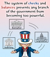 Checks and Balances Picture Thing