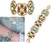 Becca Bracelet Mint Reg $89 50% sale $45