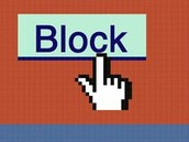 Use the block button