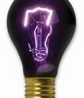 The Black Light bulb