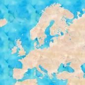 Karte Eurpa