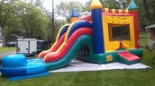 The Bouncy house we have rented