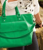 Diamond District in Green Gadsby Pebble