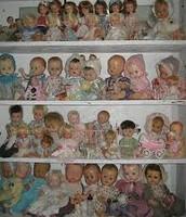 Kasey's doll shelves