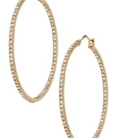 Adelaide Hoops, Gold - Now £16 rrp £32