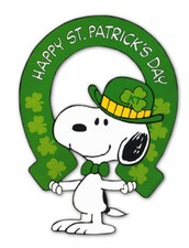 Saint Patrick's Day is March 17th!