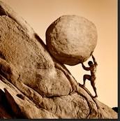 Pushing a Rock Perseverance