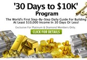 30 days to 10k Program is now LIVE!