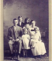 George as a Child with His family