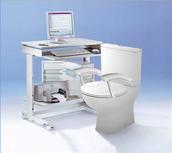 Das toilet Büro