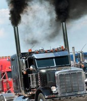 truck air pollution