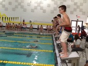 Swimmers Take Your Mark! The Swim Races Begin!
