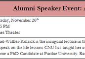 Alumni Speaker Event