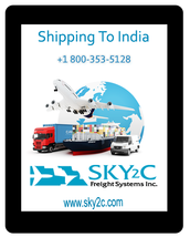 Shipping To India Methods and Cost