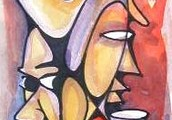 Our online Gallery sells the best Afroexpressionism Art in the World