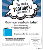 Order Your Boals Yearbook!